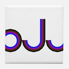 WWJD Tile Coaster