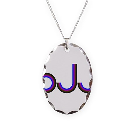 WWJD Necklace Oval Charm