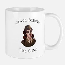 Grace Behind The Guns logo it Mug