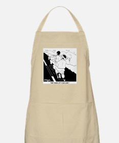Mind Removing Your Scarf? Apron