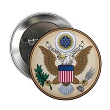 """Great Seal 2.25"""" Button"""