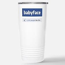 babyface funny parody Travel Mug