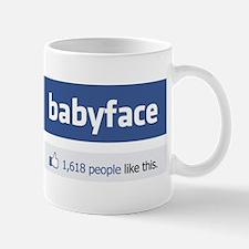 babyface funny parody Mug