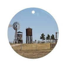 1880 Town Ornament (Round)
