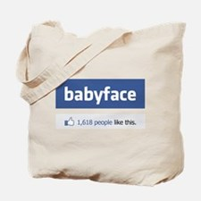 babyface funny parody Tote Bag