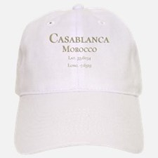 Casablanca GPS- Baseball Baseball Cap