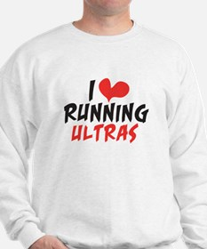 I heart Running Ultras Sweatshirt