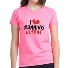 I heart Running Ultras Tee