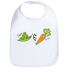 Peas and Carrot Bib