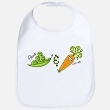 Peas and Carrot Bib