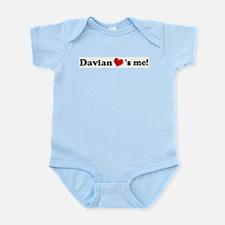 Davian loves me Infant Creeper