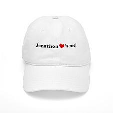 Jonathon loves me Baseball Baseball Cap