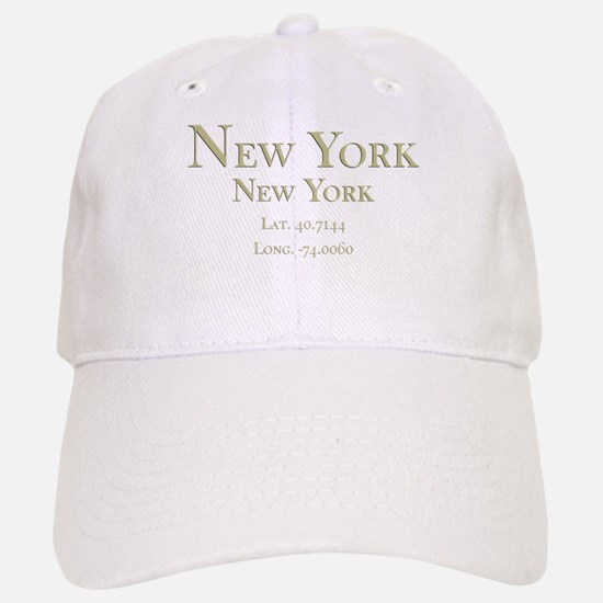 New York GPS Baseball Baseball Cap