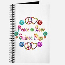 Peace Love Guinea Pigs Journal