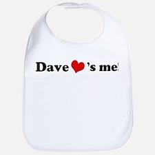 Dave loves me Bib