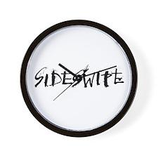 Sideswipe Logo Wall Clock