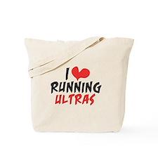 I heart Running Ultras Tote Bag
