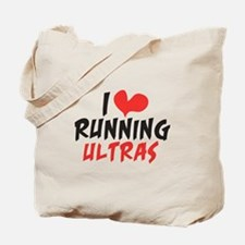 I heart Running Ultras Tote Bag