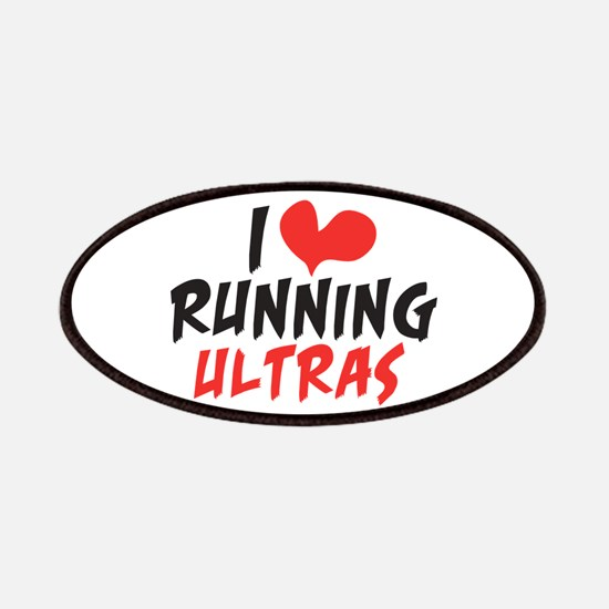 I heart Running Ultras Patches