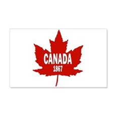 Canada 1867 22x14 Wall Peel