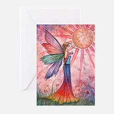 Sunshine and Rainbow Fairy Greeting Cards (Pk of 2