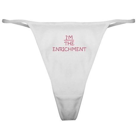 Enrichment Classic Thong
