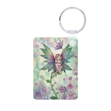 Mystic Garden Flower Fairy Art Aluminum Photo Keyc