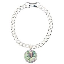 Mystic Garden Flower Fairy Art Charm Bracelet, One