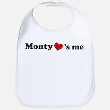 Monty loves me Bib