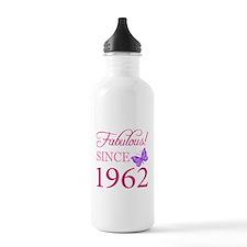 Fabulous Since 1962 Water Bottle
