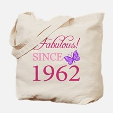 Fabulous Since 1962 Tote Bag