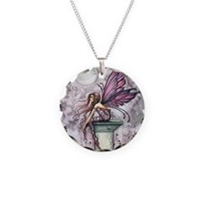 The Lookout Fairy Fantasy Ar Necklace Circle Charm