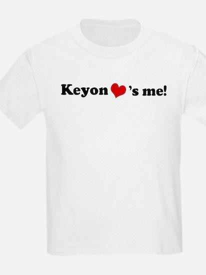 Keyon loves me Kids T-Shirt