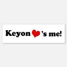 Keyon loves me Bumper Bumper Bumper Sticker