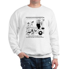 The Fat Lady Sings For A Motorcycle Sweatshirt