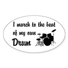 March to the Beat: Drum Kit Decal