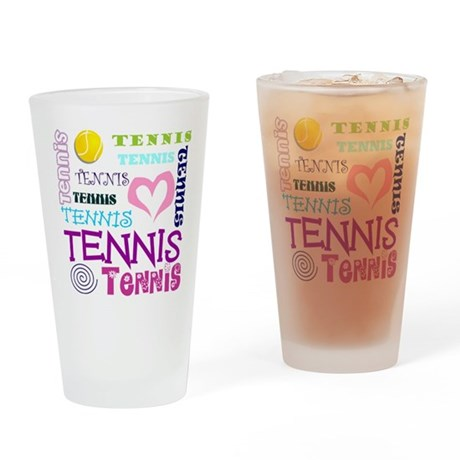 Tennis Repeating Drinking Glass