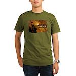 Organic Men's Oda Nobunaga T-Shirt (dark)
