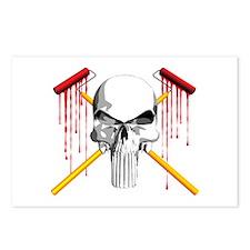 Painters Skull Postcards (Package of 8)