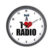 I Love Radio Wall Clock