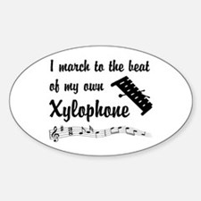 March to the Beat: Xylophone Decal