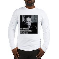 Dwight Eisenhower Long Sleeve T-Shirt