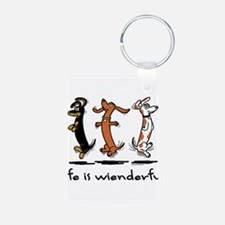Life Is Wienderful Keychains
