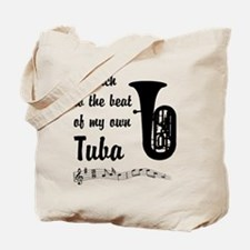 March to the Beat: Tuba Tote Bag