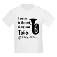 March to the Beat: Tuba T-Shirt