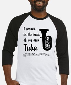 March to the Beat: Tuba Baseball Jersey