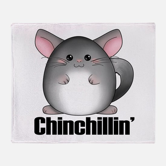 Chinchillin' Throw Blanket