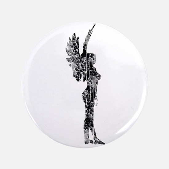 "Fairy, Vintage 3.5"" Button"