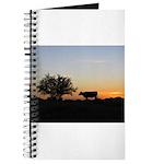 Cow At Sundown Journal