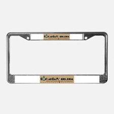 Unique Hybrids License Plate Frame